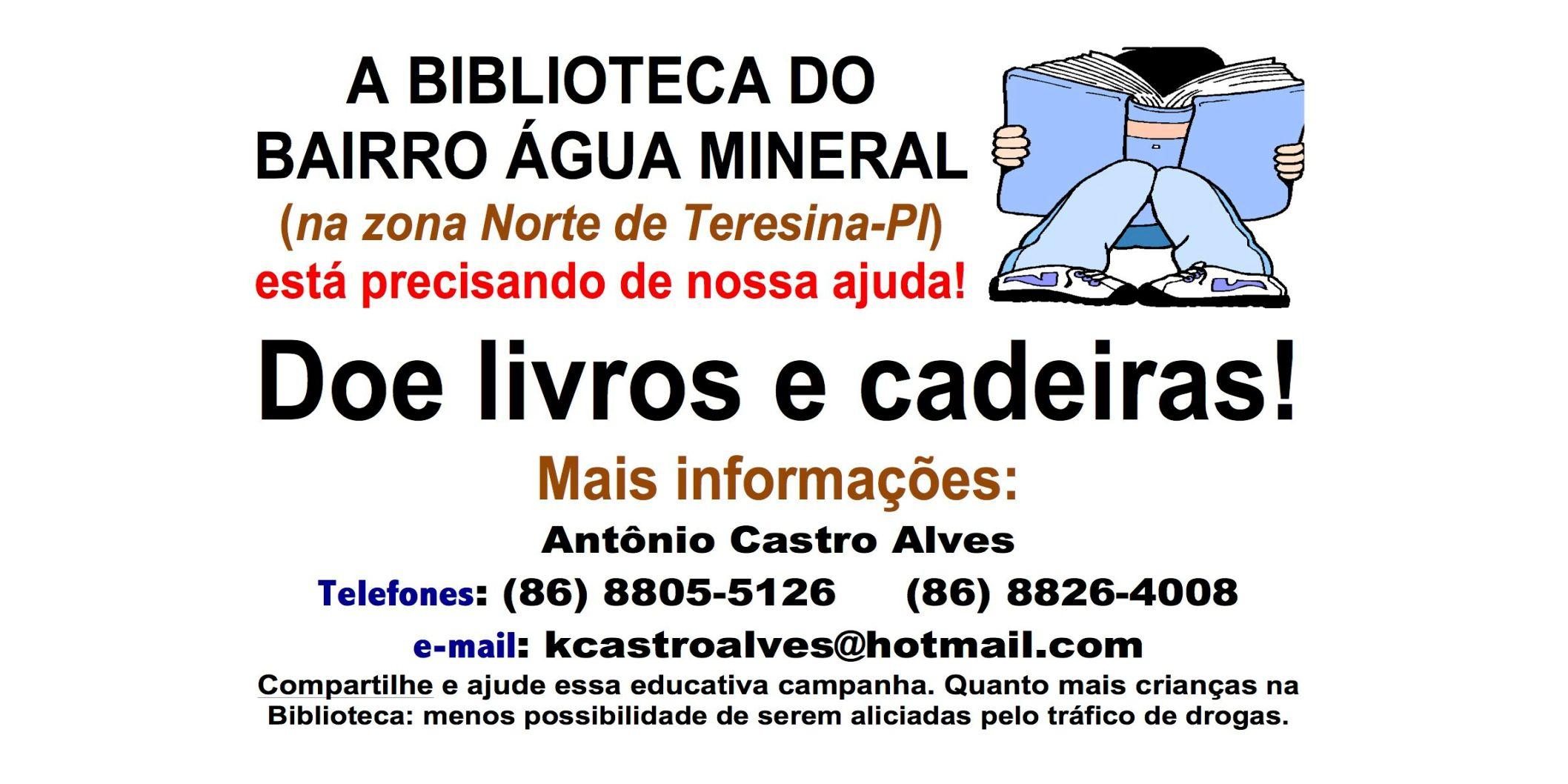 Biblioteca do bairro Água Mineral