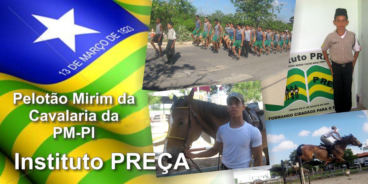 Pelotão Mirim da Cavalaria é exemplo de cidadania com projeto social Preça