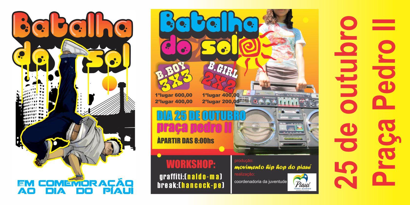 Cojuv realiza Workshop e Batalha de Hip Hop em Teresina