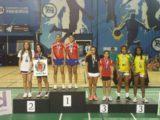 Alunas de escolas da Prefeitura conquistam ouro na I Etapa Nacional de Badminton