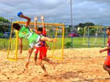 Copa IFPI de Beach Handebol movimenta Parque Lagoas do Norte