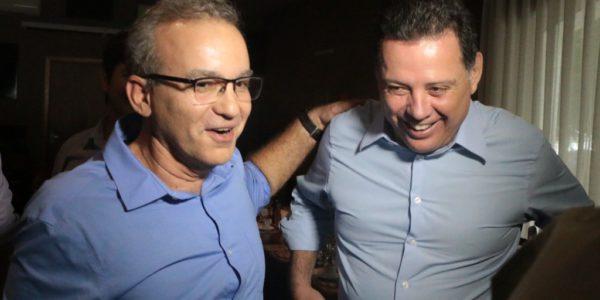 Firmino Filho recebe visita do governador de Goiás