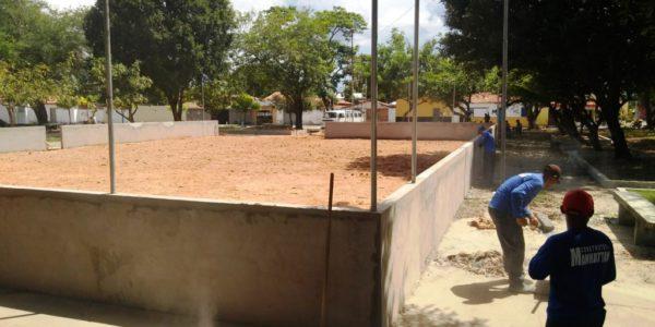 Praça da Harmonia recebe reforma e melhorias
