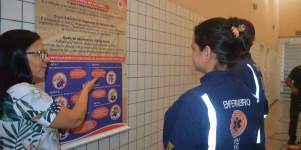 SAMU de Teresina é pioneiro no Brasil ao implantar Núcleo de Segurança do Paciente